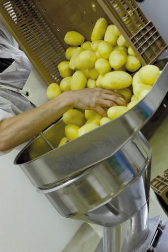 préparation soupe